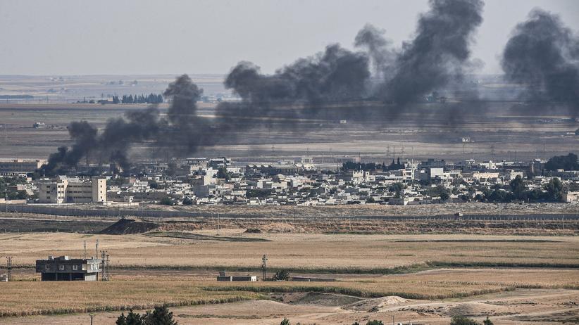 """Recep Tayyip Erdoğan: Angela Merkel fordert """"umgehende Beendigung"""" des Angriffs auf Syrien"""