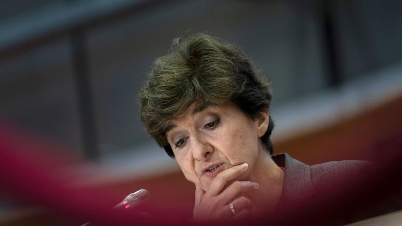 EU-Kommission: Sylvie Goulard während ihrer Anhörung vor dem EU-Parlament