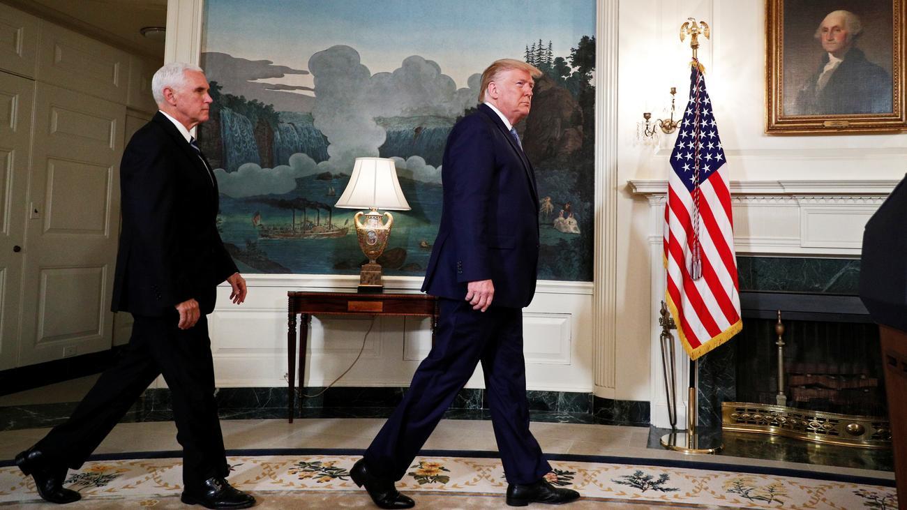 Nordsyrien: Trump kündigt Aufhebung der Sanktionen gegen die Türkei an