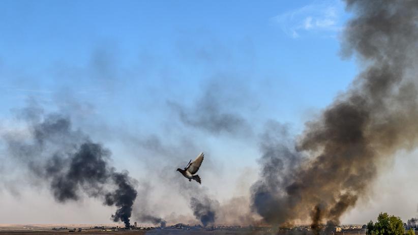 Vereinte Nationen: Kämpfe nahe der Stadt Tal Abyad, gesehen von türkischer Seite her