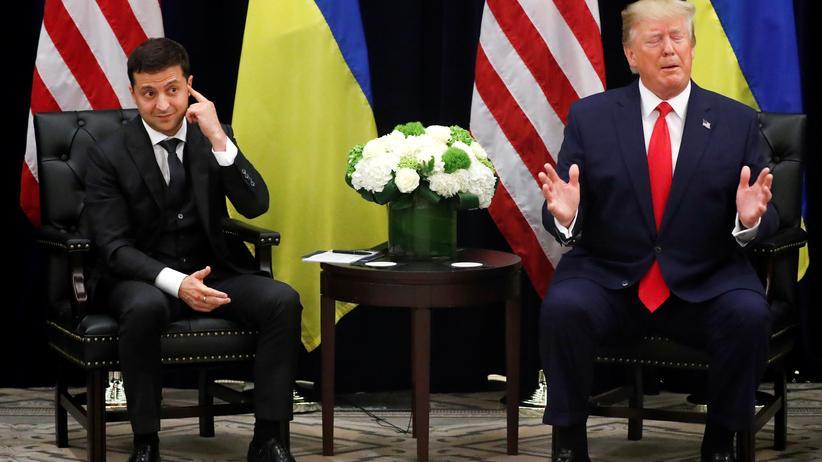 Ukraine-Affäre: Fake-News aus Washington und Unterwürfigkeit in Kiew