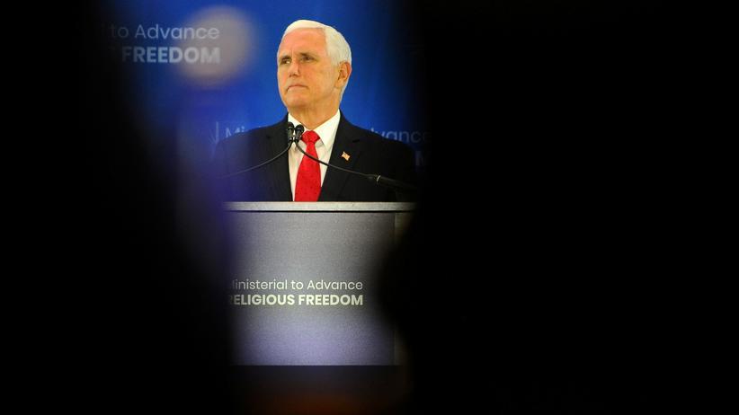 Ukraine-Affäre: US-Demokraten nehmen Mike Pence ins Visier