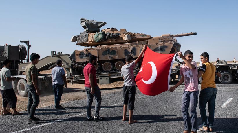 Waffenexporte: Großbritannien schränkt Waffenlieferungen in die Türkei ein