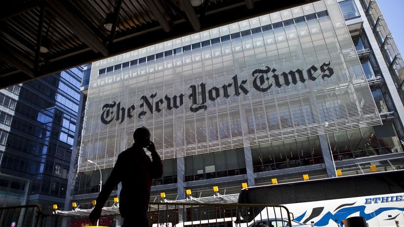 """Donald Trump: Die """"New York Times"""" und """"Washington Post"""" werden regelmäßig zum Ziel von Angriffen von US-Präsident Donald Trump."""