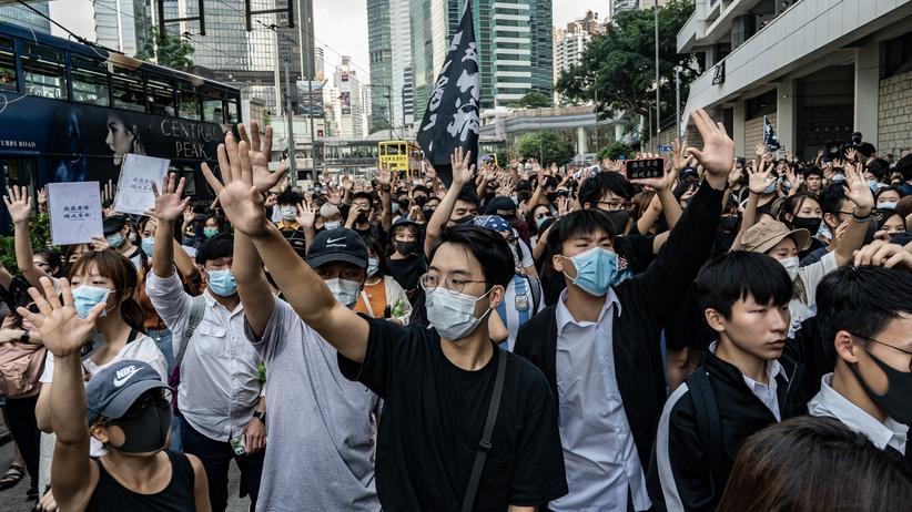 Wilfred Chan: Protest in Hongkong