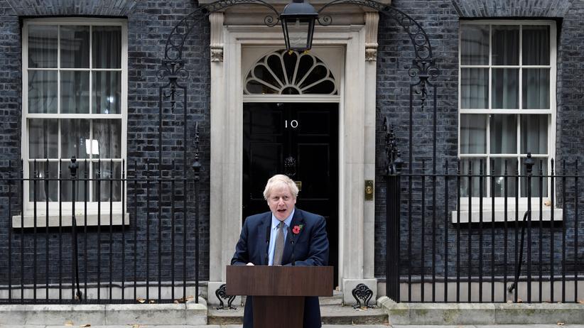 Britischer Premierminister: Der britische Premierminister Boris Johnson