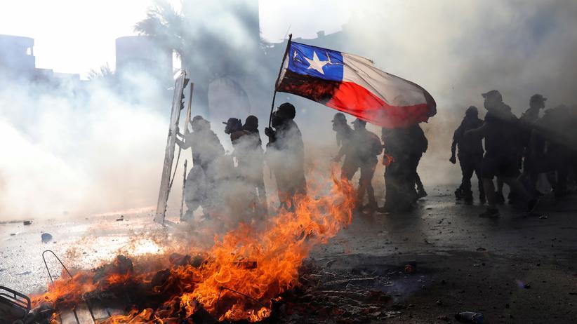 Chile: Seit fünf Wochen demonstrieren Chilenen gegen soziale Ungerechtigkeit.