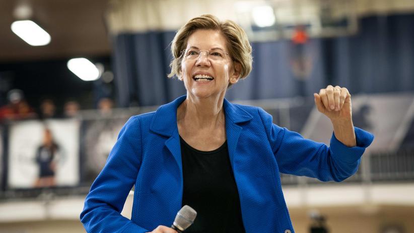 Elizabeth Warren: Extrem lieb