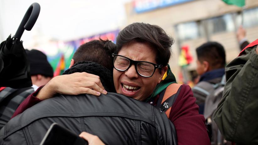 Evo Morales: Es ist kein Putsch