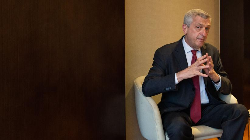 Filippo Grandi: Filippo Grandi, Chef des UN-Flüchtlingshilfswerks UNHCR