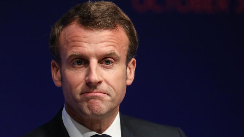 """Frankreich: Emmanuel Macron beklagt """"Hirntod"""" der Nato"""