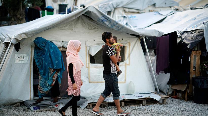 Migration: Errichtet wurde das Flüchtlingslager Moria auf Lesbos für 3.000 Menschen. Inzwischen sind dort mehr als 13.000 Menschen untergebracht.