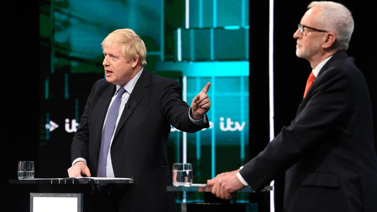Großbritannien: Jeremy Corbyn und Boris Johnson werfen sich falsche Versprechungen vor