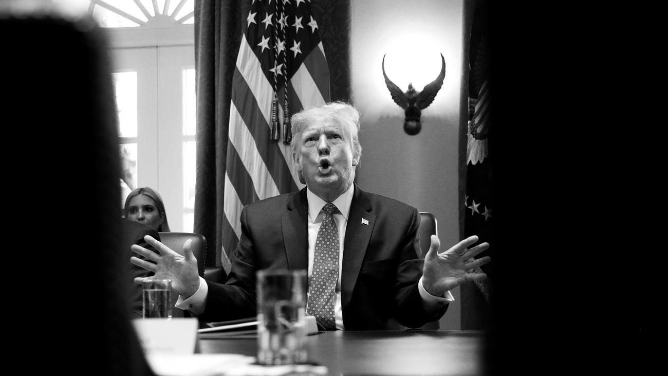 Impeachment-Anhörung: Ohrenzeugen missbilligen Einflussnahme Donald Trumps in Telefonat