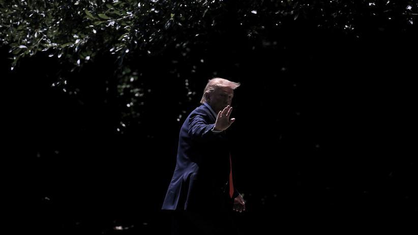 Impeachment-Verfahren: Der US-Präsident Donald Trump