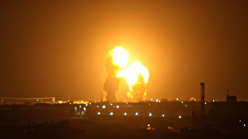 Gazastreifen: Israel greift nach Raketenbeschuss Hamas-Ziele an