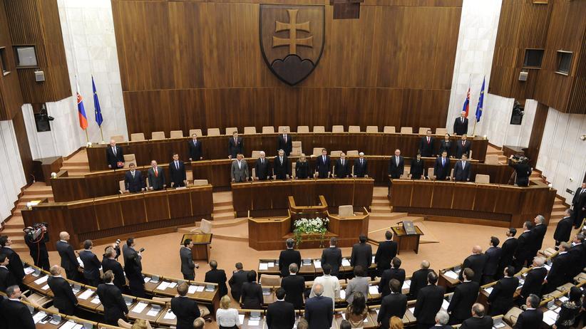Istanbul-Konvention: Eine Sitzung des Parlaments in Bratislava