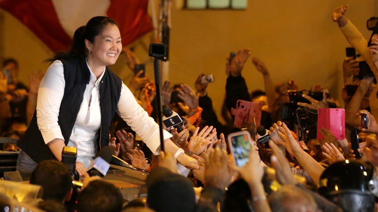 Peru: Oppositionschefin Keiko Fujimori aus der U-Haft entlassen