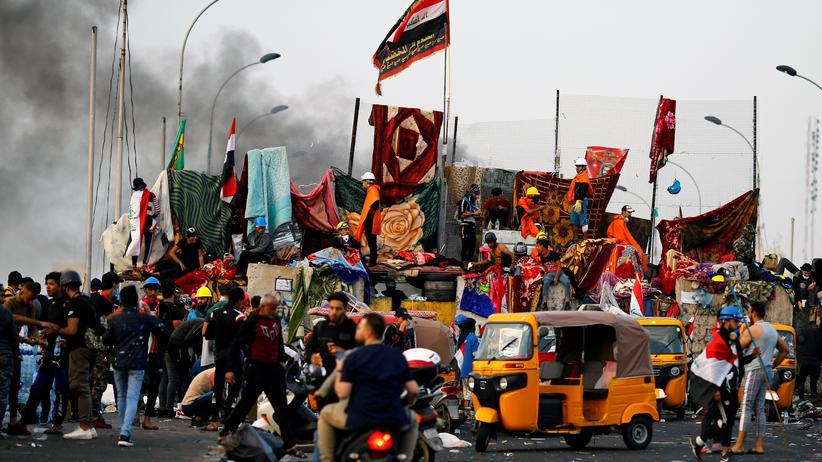 Proteste: Demonstranten im Irak erschossen