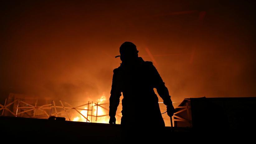 Hongkong: Regierungsgegner in Hongkong: Feuer an der Polytechnischen Universität