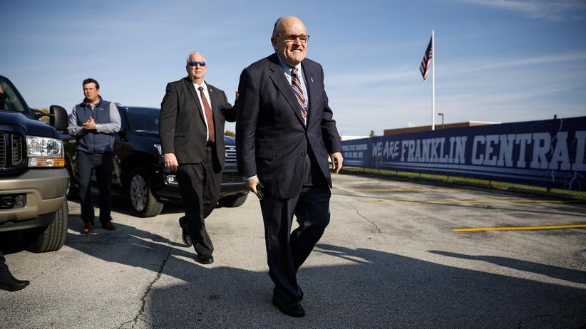 Impeachment-Ermittlungen: Trumps Anwalt Rudy Giuliani bestreitet Zeugenvorwurf