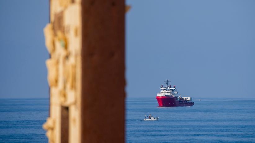 """Seenotrettung: Das Schiff """"Ocean Viking"""" der Hilfsorganisationen Hilfsorganisationen SOS Méditerranée und Ärzte ohne Grenzen auf einem Archivbild im September 2019"""
