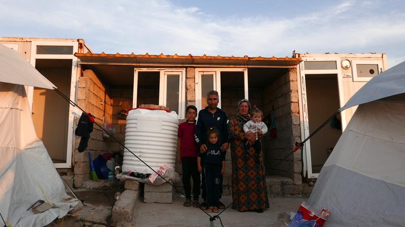 """Syrische Flüchtlinge: """"Wir sprechen nicht von Flüchtlingen. Sie sind unsere Gäste"""""""