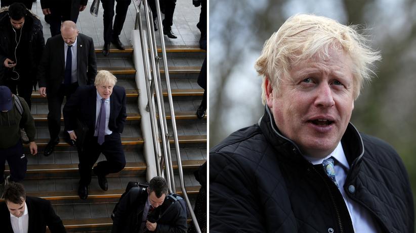 Tories: Boris Johnson soll möglichst keine spontanen Wahlkampfauftritte mehr machen.