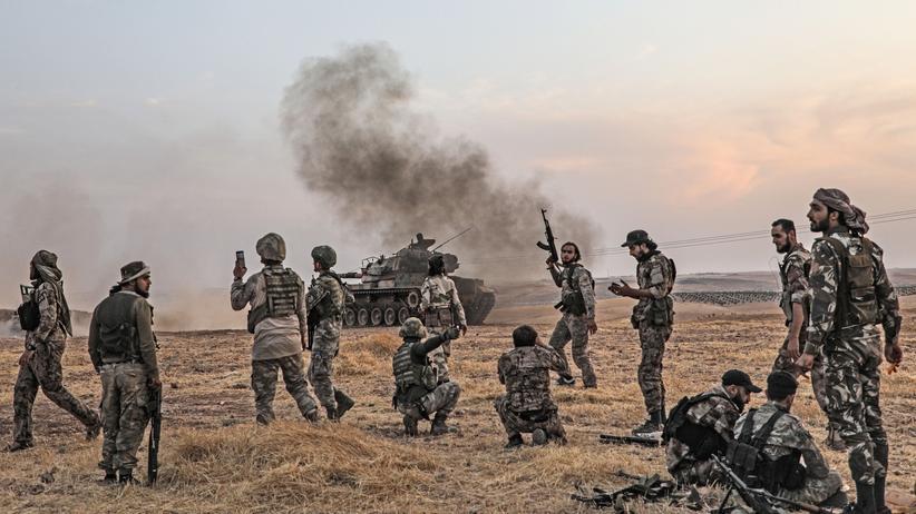 Türkei: Türkische Streitkräfte im Einsatz an der türkisch-syrischen Grenze