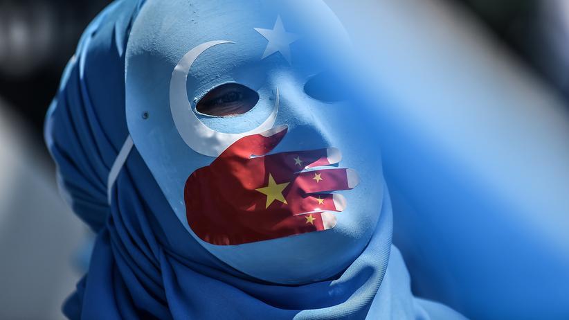 Uiguren: Antichinesischer Protest von Unterstützern der Uiguren in Istanbul