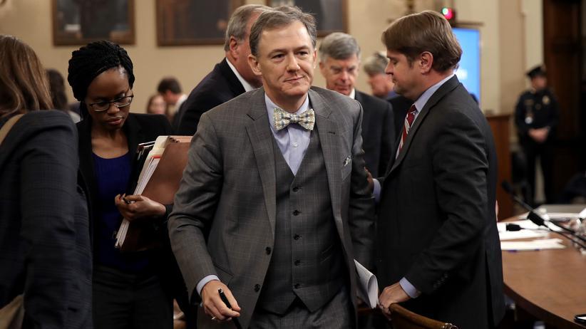 Impeachment-Anhörung: George P. Kent, Vizestaatssekretär im Außenministerium, während einer Pause