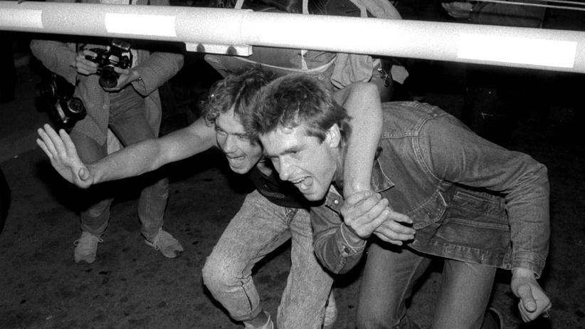 Revolutionen 1989: Ungarn öffnete in der Nacht vom 10. auf den 11. September die Grenze zu Deutschland und Österreich (Foto), zehntausende Menschen gehen daraufhin in den Westen.