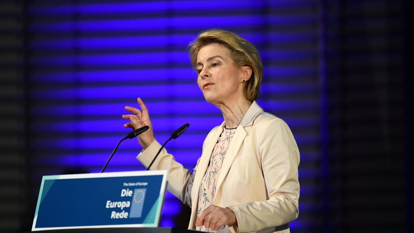 EU-Kommissionspräsidentin: Ursula von der Leyen tritt ihr Amt als neue EU-Kommissionspräsidentin am 1. Dezember an.