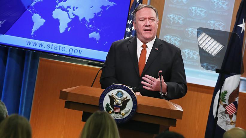 US-Außenminister: USA fordern von China die Freilassung internierter Uiguren