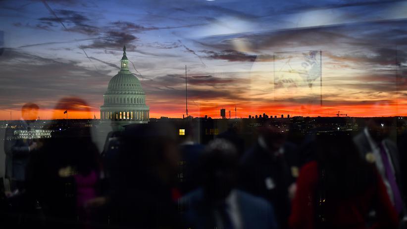 Amtsenthebungsverfahren: Das Kapitol in Washington