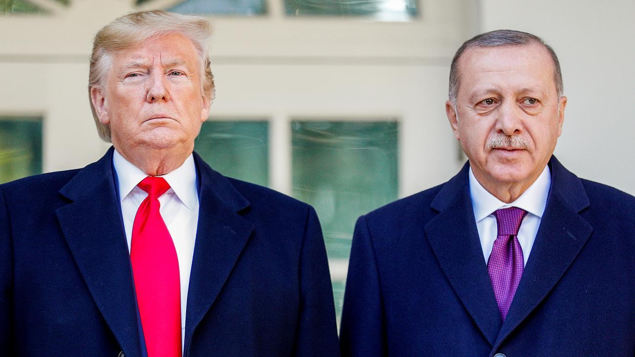 Gespräche in Washington: Zwei Brüder im Geiste