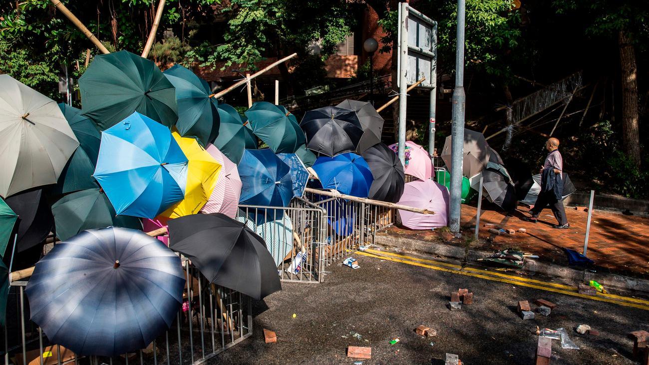 Wahlen in Hongkong: Demonstranten in Hongkong stellen Regierung ein Ultimatum