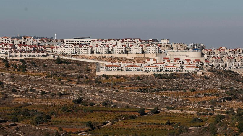 Westjordanland: Blick auf die israelische Siedlung Efrat im Westjordanland