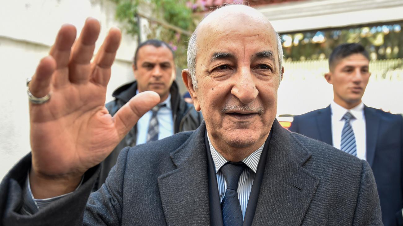 Algier: Ehemaliger Regierungschef Algeriens zum Präsidenten gewählt