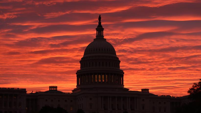 Blick auf das Kapitol in Washington D.C.