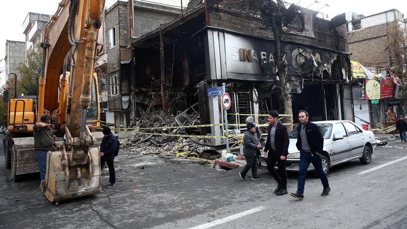 Iran: Bei den Massenprotesten im Iran sind Hunderte Menschen ums Leben gekommen.