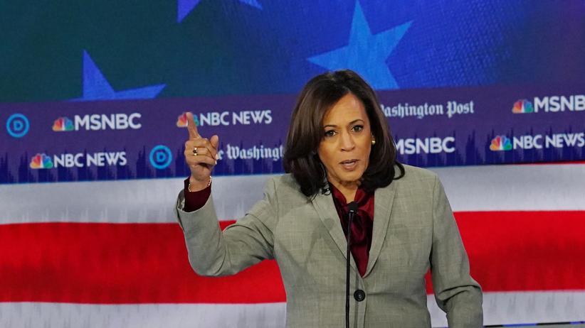 US-Präsidentschaftswahl 2020: Die US-Senatorin Kamala Harris