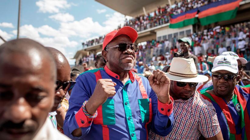 Namibias Präsident Hage Geingob