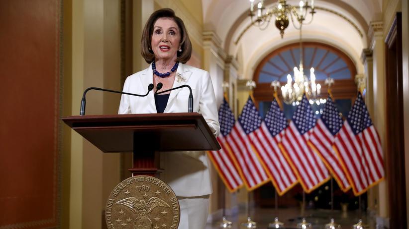 Impeachment: Nancy Pelosi kündigt Amtsenthebungsverfahren gegen Donald Trump an