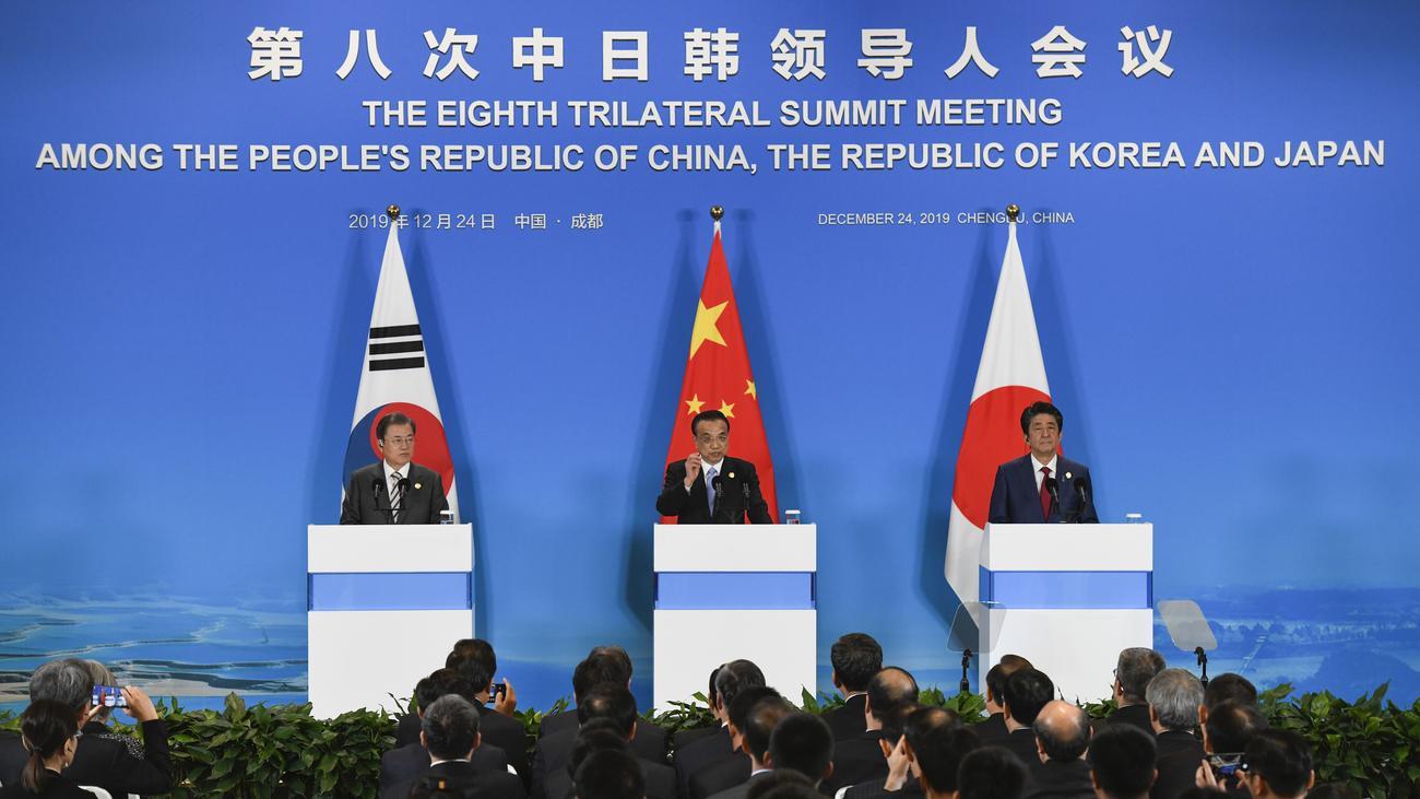 Nordkorea: China, Südkorea und Japan vereinbaren Zusammenarbeit im Atomkonflikt