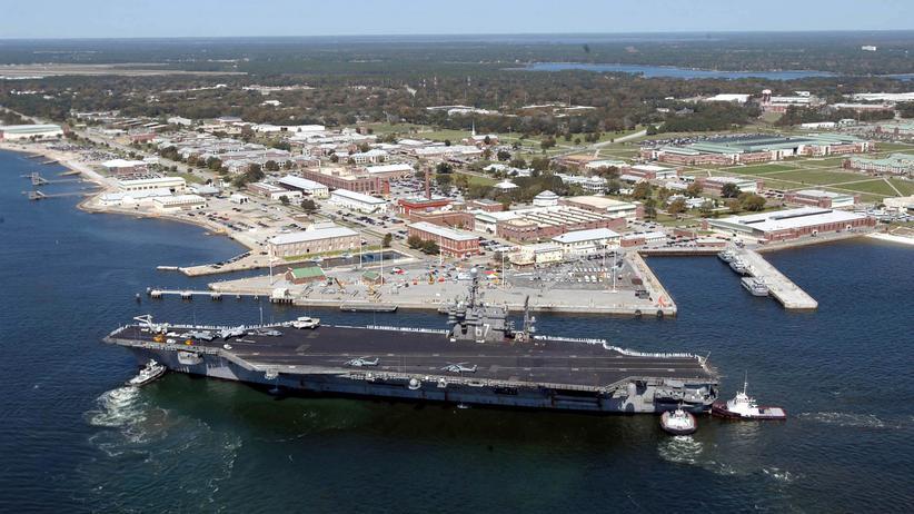 Pensacola: Der Marinestützpunkt Pensacola im US-Bundesstaat Florida