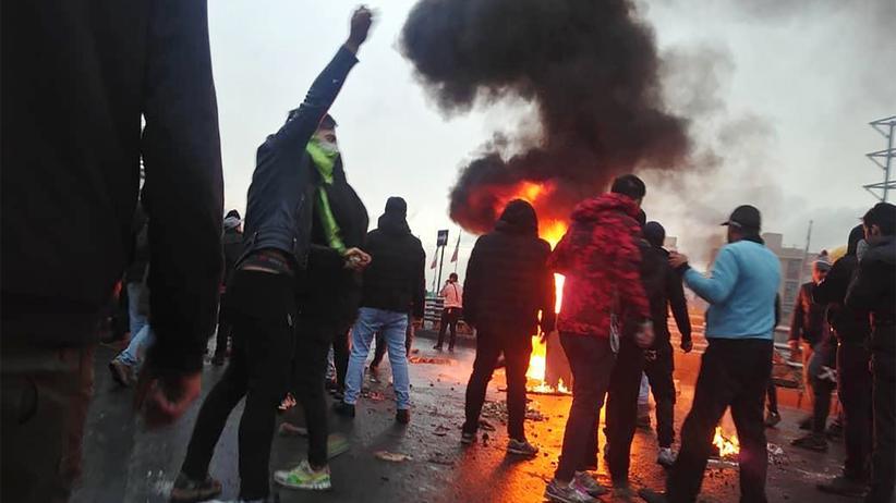 Menschenrechte: Proteste in Teheran im November