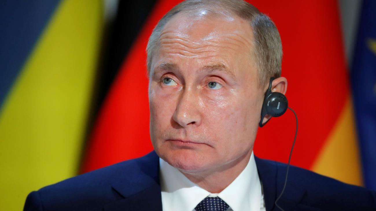 Russland: Wladimir Putin droht mit Ausweisung deutscher Diplomaten