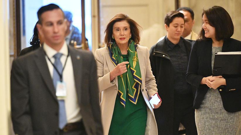 Amtsenthebungsverfahren: Bereit für das Impeachment: Nancy Pelosi, demokratische Vorsitzende des US-Repräsentantenhauses