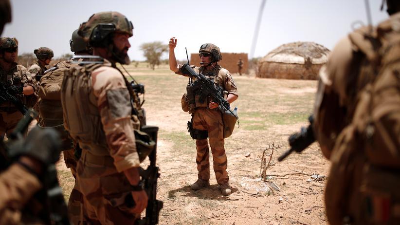 Außenpolitik: Französische Truppen in Ndaki, Mali, Juli 2019